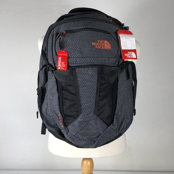 2a9a82b1cc Gray Rose Gold Recon Women s North Face Backpack